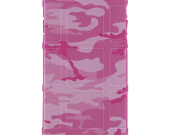 CUSTOM PRINTED Limited Edition - Authentic Made in U.S.A. Magpul Industries Field or Bump Case, Pink Camouflage