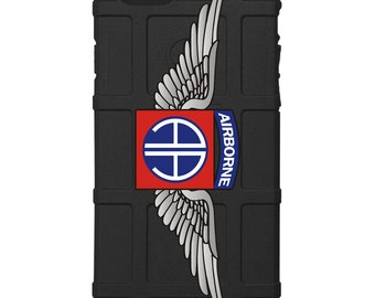 CUSTOM PRINTED Limited Edition -  US Army 82nd Airborne Division Wings (baaw)
