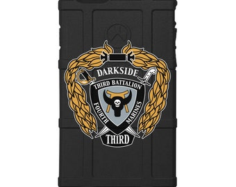 CUSTOM PRINTED Limited Edition -  U.S. Marine Corps 3rd Battalion 4th Marines Darkside