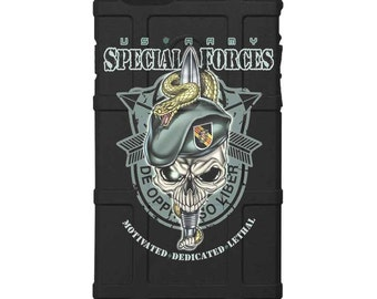 CUSTOM PRINTED Limited Edition -  U.S. Army Special Forces