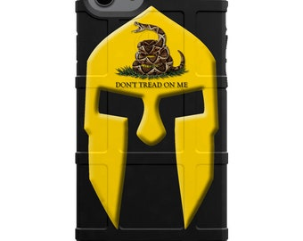 CUSTOM PRINTED Limited Edition - Gadsden Spartan Warrior, Don't Tread on Me Spartan