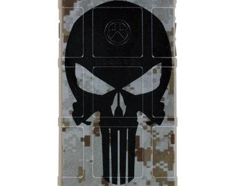 CUSTOM PRINTED Limited Edition - Punisher on Desert Digital Camouflage