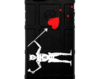 CUSTOM PRINTED Limited Edition - Authentic Made in U.S.A. Magpul, Pelican, Urban Armor Gear, Jolly Roger, Edward Teach, Blackbeard Flag Case