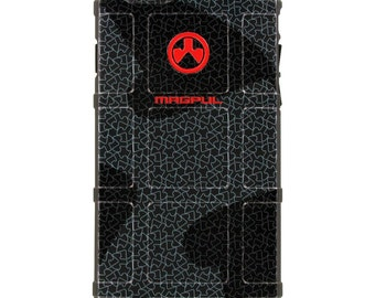 CUSTOM PRINTED Limited Edition - Authentic Made in U.S.A. Magpul Industries Field or Bump Case, Magpul Matrix Black Logo
