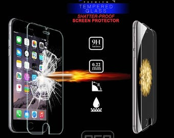 EGO Tactical 9H Tempered Glass Screen Protector for phones with Magpul Industries Field, Limited Edition or Bump Cases - Add-On Item