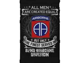 "CUSTOM PRINTED Limited Edition - Authentic Made in U.S.A. Magpul Industries Field Case, US Army 82nd Airborne Division ""The Finest"" (baam)"