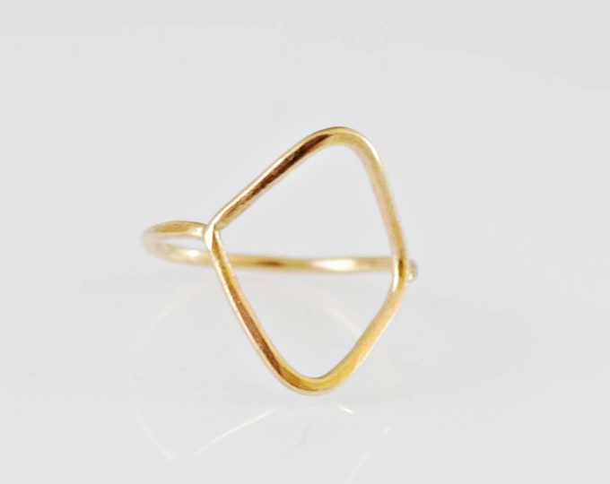 Gold Bohemian Ring byLepa Jewelry