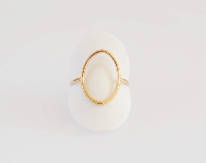Gold Index Finger Ring - Bohemian Jewelry by Lepa Jeweley