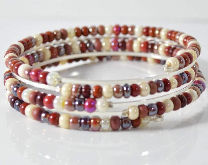 Red Adjustable Bracelet - Lepa Jewelry (K766)