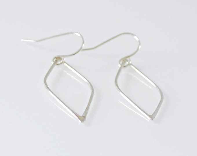 Open Style Marquise Form Drop Earrings - Mother's Day Gift - Lepa Jewelry (K805)