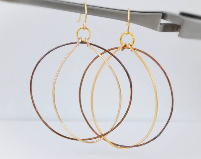 Modern Boho Chic Artisan Earrings for Women- Lepa Jewelry (K774)