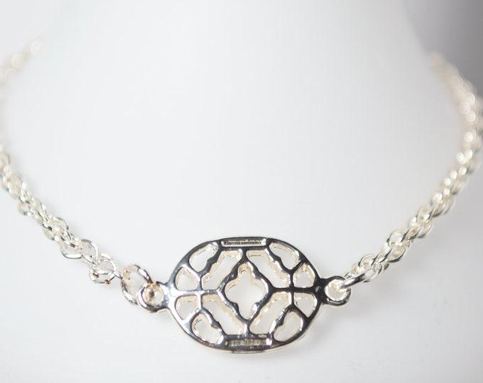 Elegant Silver Bracelet in Silver by Lepa Jewelry (K525)