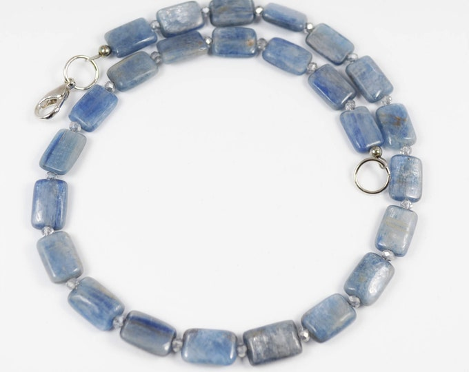 Blue Kyanite Choker By Lepa Jewelry (K427)