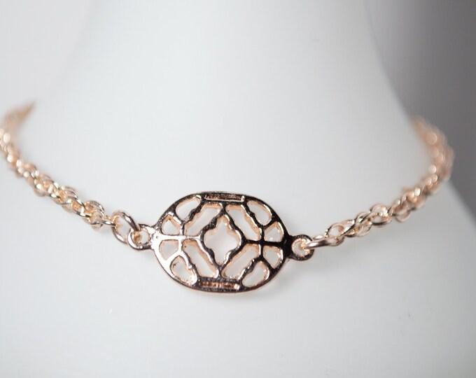 Elegant Rose Gold Bracelet by Lepa Jewelry (K528)