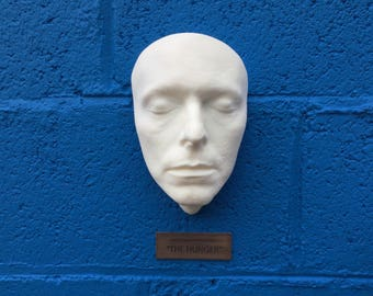 David Bowie life cast in White