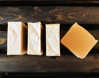 Tutti Fruitti Goat's Milk Face and Body Bar/Citrus Goat's Milk Soap/Orange Goats Milk Soap