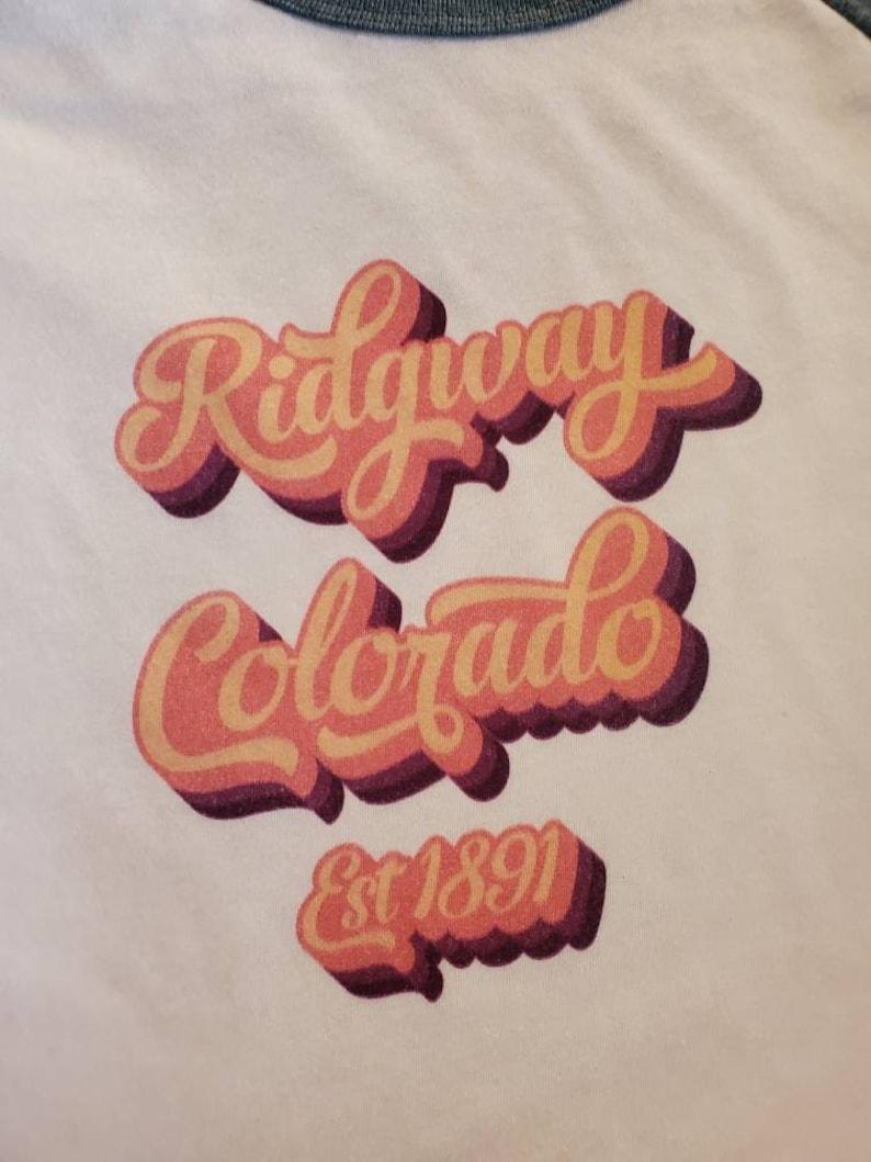 Sz Small Vintage Ridgway Colorado Graphic Tee
