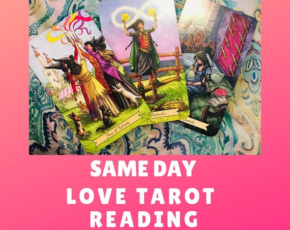 Same Day Love Tarot Reading, Same Day Reading, Tarot Reading, Psychic Reading