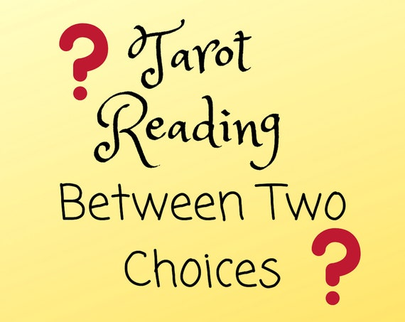 Between Two Choices-Tarot Reading-Psychic Reading