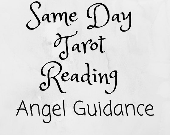 Angel Guidance-Same Day Tarot Reading-Psychic Reading