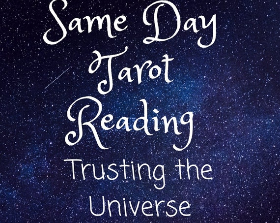 Same Day-Trusting the Universe-Tarot Reading-Psychic Reading