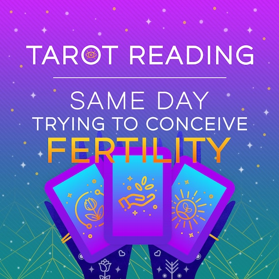 Fertility Tarot Reading Same Day Emergency Reading Psychic Reading Same Day TTC Trying to Conceive Tarot Reading Guidance