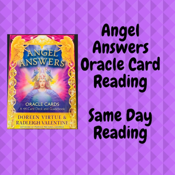 Same Day Angel Answers Oracle Card Reading