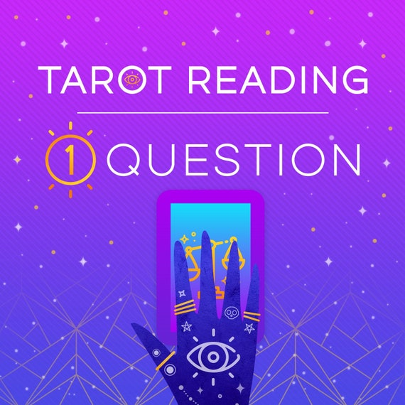 One Question Tarot Reading-Psychic Tarot Reading