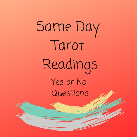 Yes or No Answers - Same Day Four question Reading
