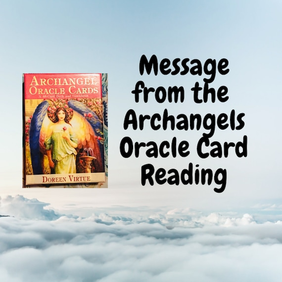 Same Day Archangel Messages Oracle Card, Angel Spirit Guide Messages, Oracle Card Reading