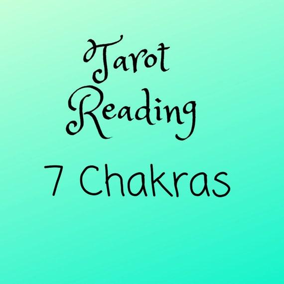 Seven Chakras Tarot Reading - Tarot Reading - Psychic Reading