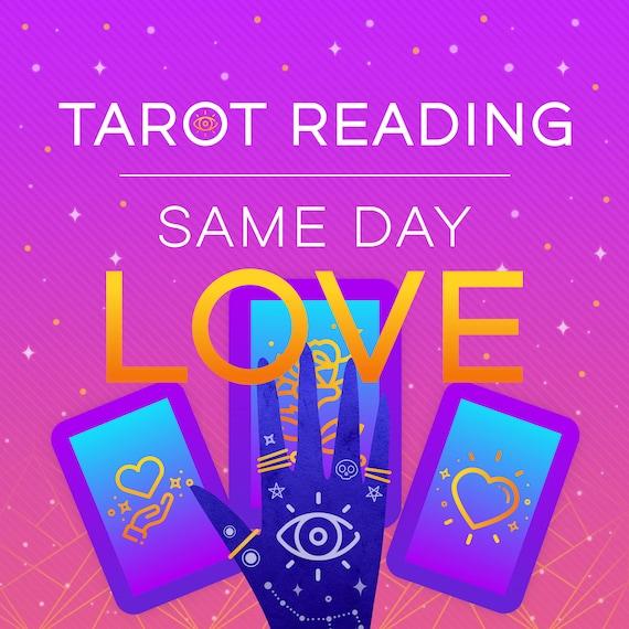 Same Day Love Tarot Reading, Same Day Reading, Tarot Reading, Psychic Reading