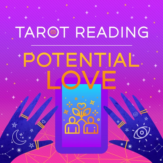 Potential Love Tarot Reading, Love Reading, Tarot Reading, Psychic Love Reading + Oracle Card for Extra Guidance
