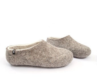 f0ef8b653cea1d Ready to ship Women s sizes Organic Wool Slippers
