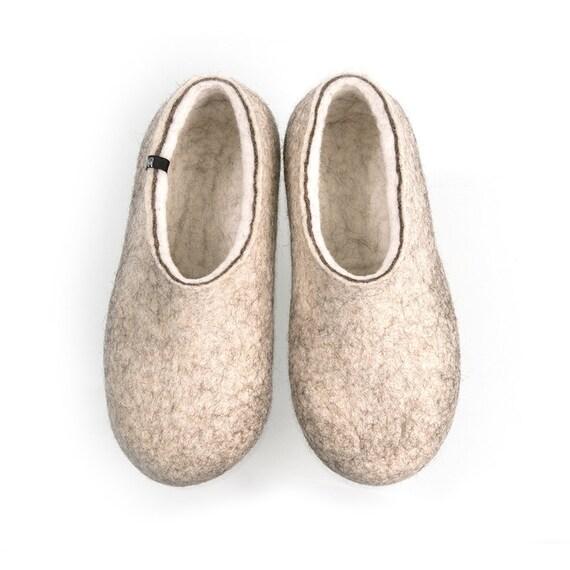 Herren Gefilzte Schuhe Bio Filz wolle Stiefel warme Wolle Schuhe bequem wolle Schuhe Gefilzte wolle Schuhe Gefilzte Hausschuhe Geschenk für ihn