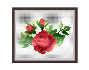 Bamboo Counted Cross Stitch Pattern Pdf Instant Download Etsy