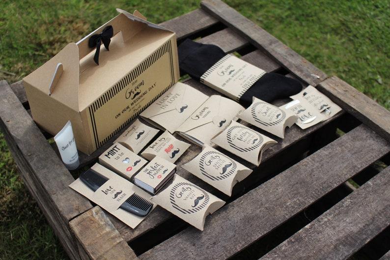 Scatola regalo Wedding buono/Bag Survival box o Tin-Includes image 0