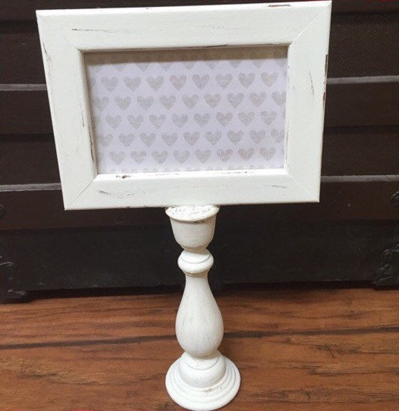 Shabby chic picture frames - white wooden picture frames ...