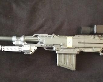 Halo inspired Nerf Centurion Sniper mod version 2.0
