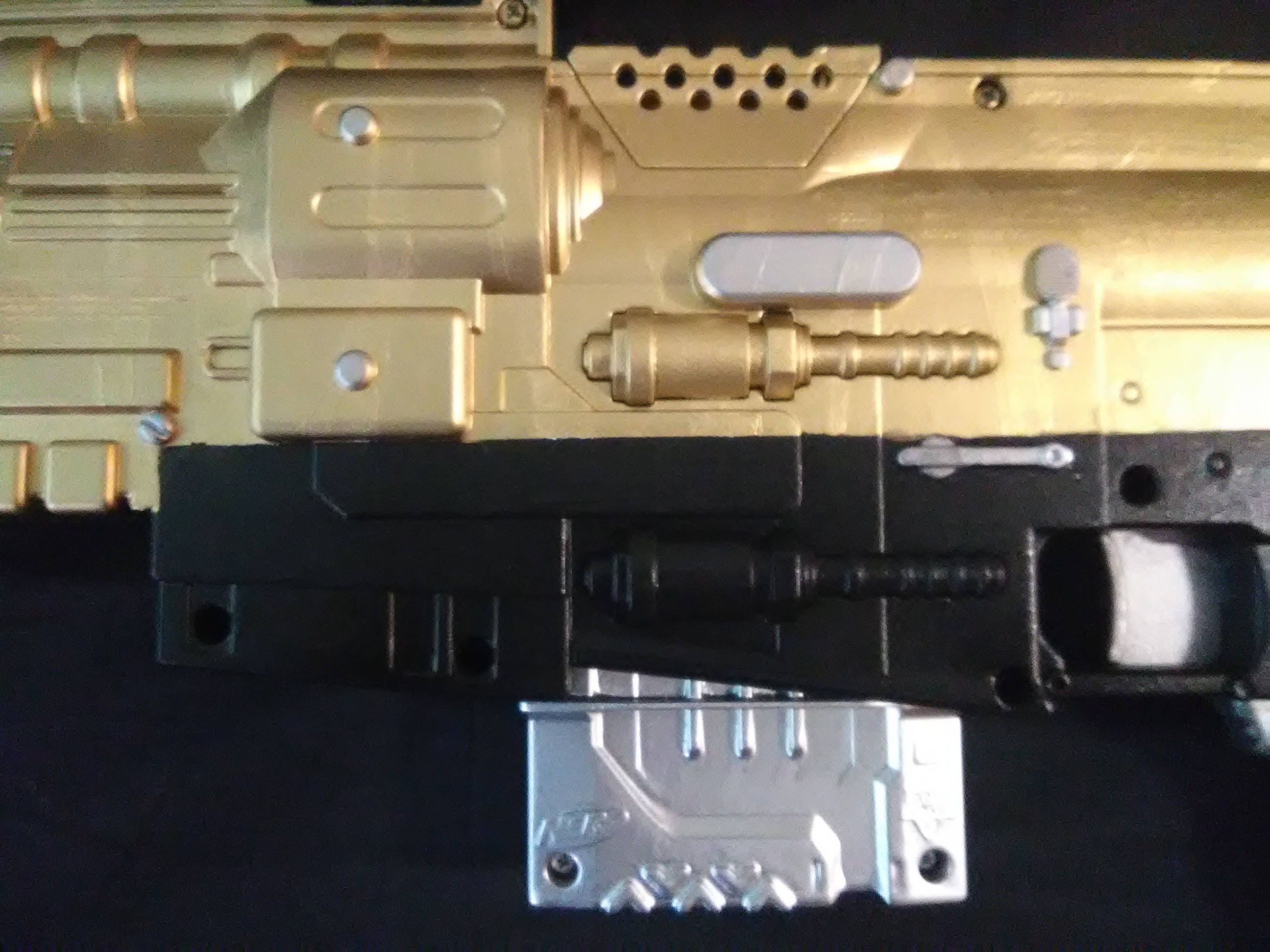 Named weapon Tenebrae replica nerf prop