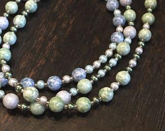 Aqua Mix Necklace