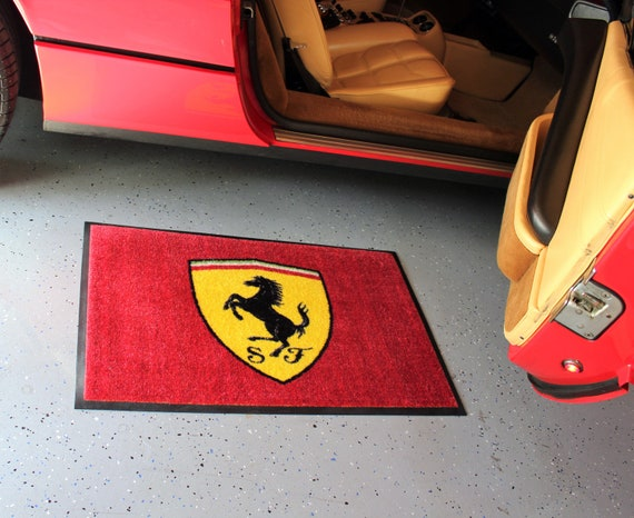 Lamborghini Badge Floor Door Mat