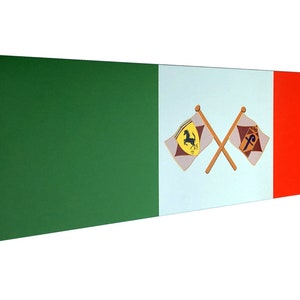 Metal Sign Pininfarina Fender Badge