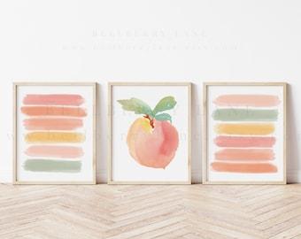 Peach Bathroom Art, Peach Bathroom Accessories
