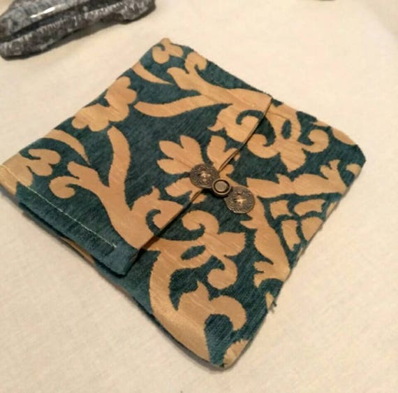vert meraude et or sac de tarot de taille standard etsy. Black Bedroom Furniture Sets. Home Design Ideas