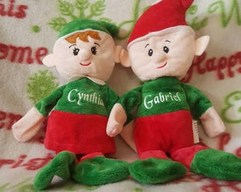 Personalized Elf for Christmas Stocking Stuffer