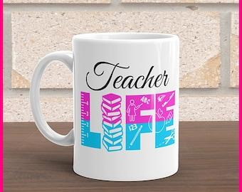 Teacher Mugs.... Teacher/Teaching Life