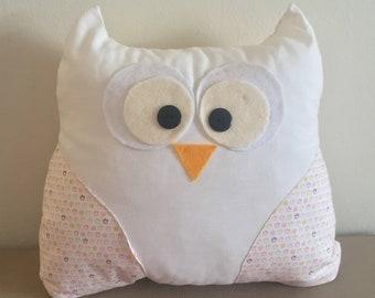 Owl pillows, owl cushion, owl decor, handmade owl pillow, baby pillow,nursery pillow, baby gift, handmade,kids room, girl gift, boy gift,