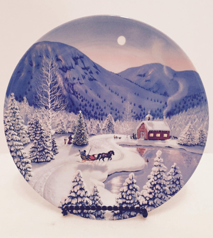 The Christmas Tree 1991.1991 W S George Collector Plate O Christmas Tree