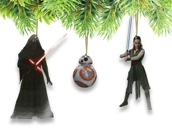 Star Wars New Trilogy Character Ornaments (Set of 6)
